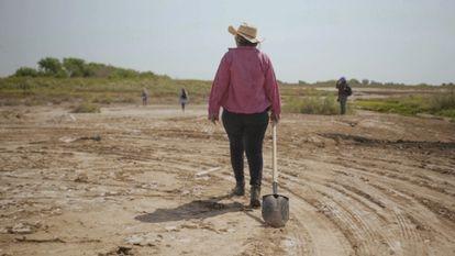 Fotograma del documental 'Te nombré en silencio', sobre las Rastreadoras de El Fuerte.