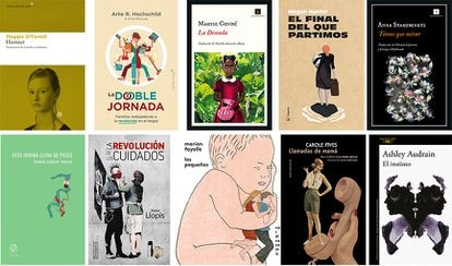 Diez novedades de lecturas relacionadas con la maternidad.