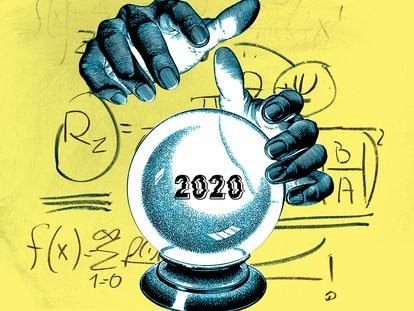 Turchin no solo dijo que 2020 pondría a las sociedades occidentales al borde del abismo, también ve muy probable que en 2021 den un (¿irreversible?) paso al frente, precipitándose al vacío.