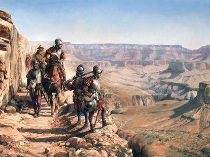 'Españoles en el Colorado' (2016), de Augusto Ferrer-Dalmau
