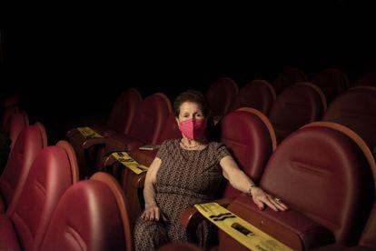 Beatriz Vossio acude de martes a domingo a la Filmoteca.