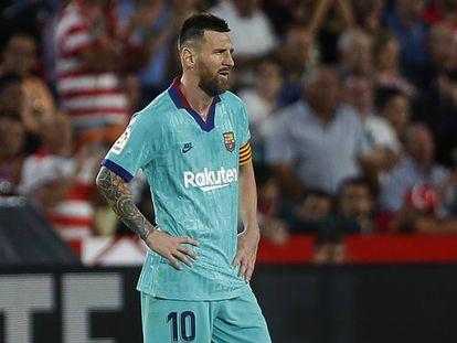 Messi, ante el Granada