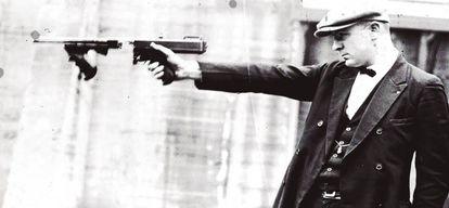 Detalle de la portada de 'Chicago', de David Mamet.