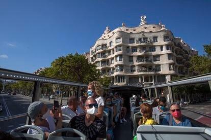 El autobús turístico de Barcelona, ahora pensado para los vecinos.