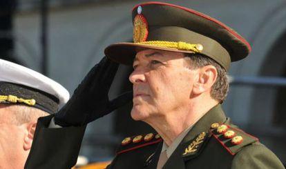 César Milani durante su toma de posesión en 2013.