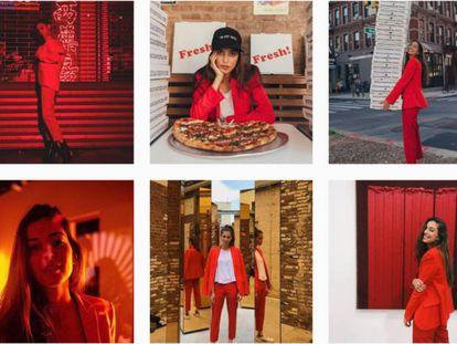 Imágenes del Instagram de Marina Testino.