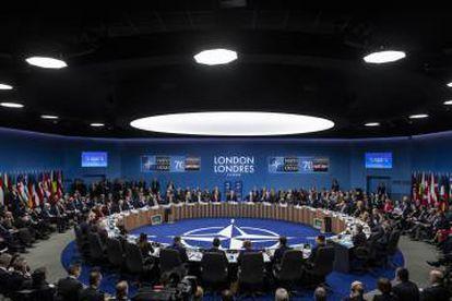 Asamblea de la OTAN el pasado diciembre en Watford (Reino Unido).