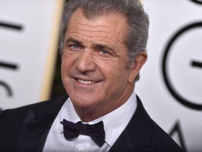 Mel Gibson, en los Globos de Oro de 2017.