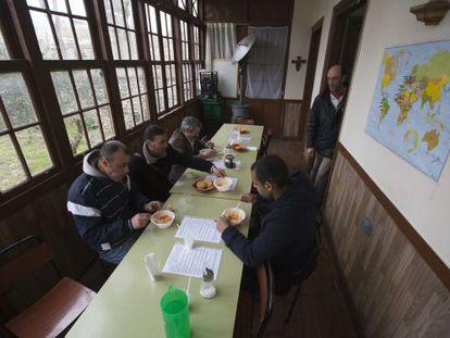 Uno de los comedores sociales que funcionan en Vitoria.