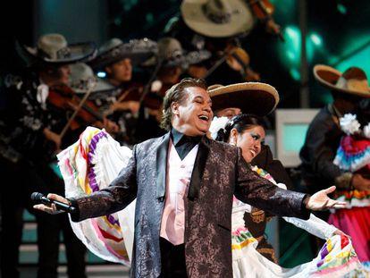 Juan Gabriel, en los Grammy Latinos de 2009.