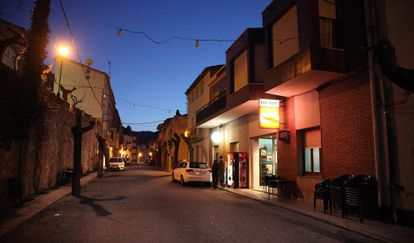 Una calle de Rasquera, en Tarragona, un pueblo de unos 900 habitantes.