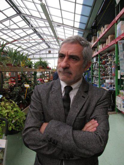 El candidato de IU por Asturias, Gaspar Llamazares.