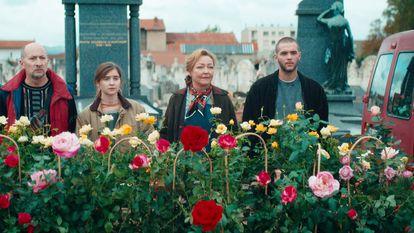 Una imagen de 'Entre rosas'.