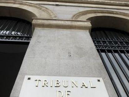 Fachada del Tribunal de Cuentas.
