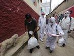 28/06/2020 Reparto de insumos en Bogotá durante la epidemia de coronavirus SOCIEDAD SUDAMÉRICA COLOMBIA - / XINHUA NEWS / CONTACTOPHOTO