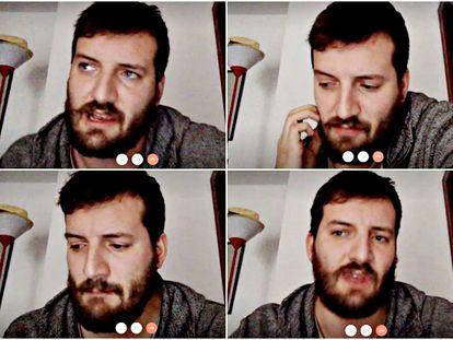 Pedro Sánchez Martínez, director adjunto de LaJoven, compañía de teatro que está compartiendo varios de sus montajes gratis a través de YouTube