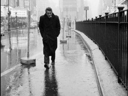James Dean, en 1955 en Nueva York.