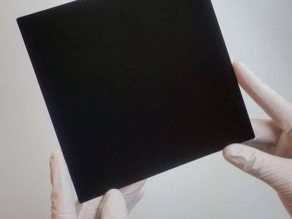 La célula solar creada por Kunta Yoshikawa.