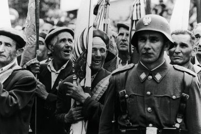 Fotografía de Francisco Ontañón tomada en Pamplona en 1961