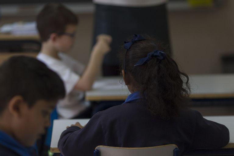 Alumnos en un colegio, en una imagen de archivo.