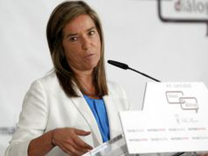La ministra de Sanidad, Servicios Sociales e Igualdad, Ana Mato