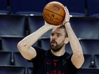 El pívot de los Toronto Raptors, campeón de la NBA, repasa la intrahistoria de la consecución del anillo y los próximos retos con la selección española