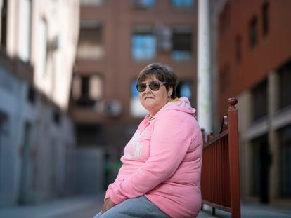 María Pino, este miércoles en Toledo.