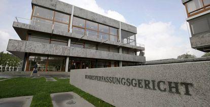 Tribunal Constitucional en Karlsruhe (Alemania) .