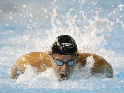 Thiago Pereira de Brasil,en los Juegos Panamericanos.