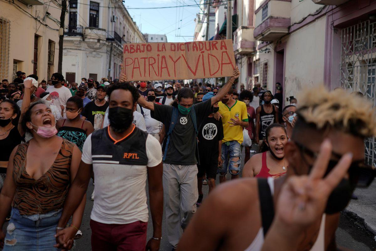 Cuba culpa a Washington por las protestas en el país