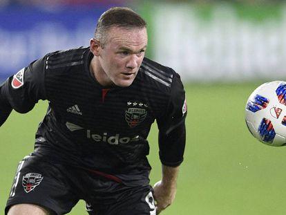Rooney, en un partido con el D.C. United