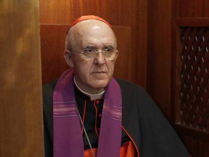 El cardenal y arzobispo de Madrid, Carlos Osoro.