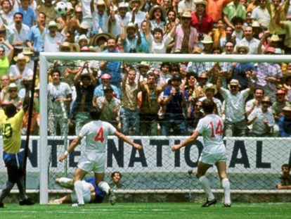 Banks evita en el último momento un gol de Pelé en el Mundial del 70. / ACTION IMAGES