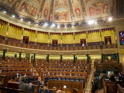 Pleno del Congreso de los Diputados, el pasado 17 de diciembre.