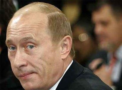 Vladímir Putin, durante la Conferencia sobre Política de Seguridad en Múnich.