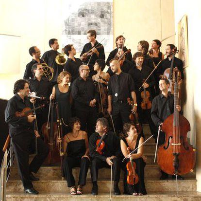 La Orquesta Barroca de Sevilla, en una imagen de archivo (2010).