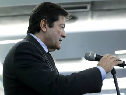 Javier Fernandez, presidente de la Gestora del PSOE.