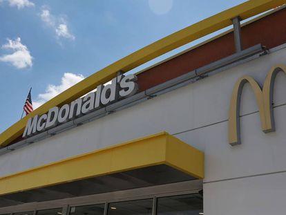 Fachada de un restaurante McDonald's en Miami.