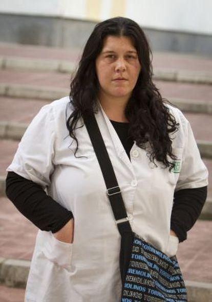 Lorena Escribano, en Jerez.