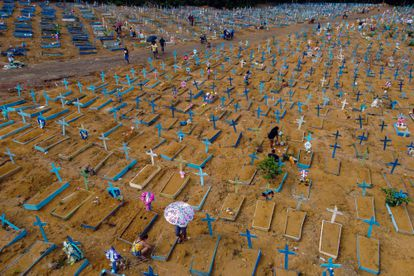 El cementerio de Nossa Senhora Aparecida en Manaus, Brasil.