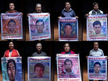 Clemente Rodríguez, Margarito Guerrero, Lorenzo Francisco, Francisco Lauro, María de Jesús Tlaltempa, Margarito Ramírez, Calixta Valerio y Celso Gaspar.