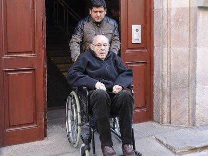 """El expresidente del Palau de la Música Fèlix Millet pide el indulto """"por razones humanitarias"""""""