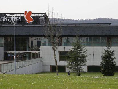Sede central de Euskaltel, en el parque tecnológico de Zamudio, en Bizkaia.