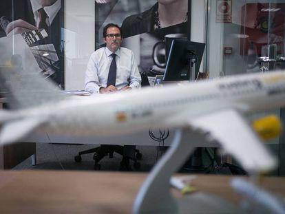 Javier Sánchez Prieto, presidente de Vueling, en una fotografía de archivo.