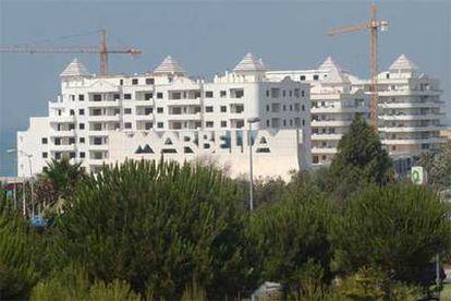 Urbanización Banana Beach, declarada ilegal por el Tribunal Superior de Andalucía. La sentencia está recurrida.
