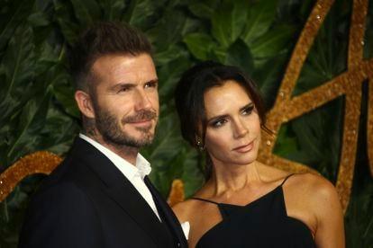 David y Victoria Beckham, en Londres, en 2018.