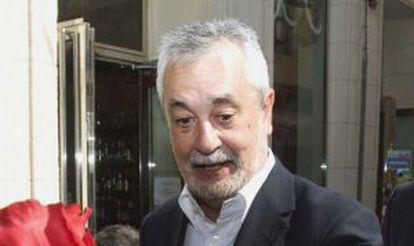 José Antonio Griñán, en Almería.