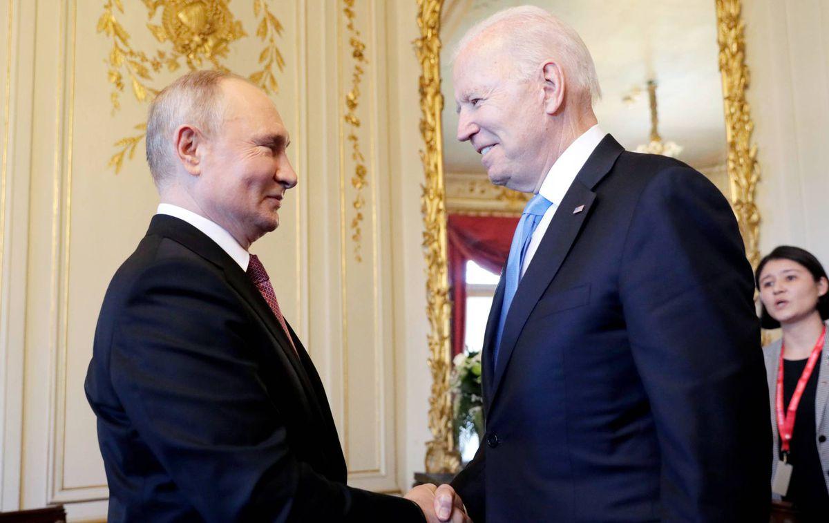 Hombre sin alma, citas a Tolstoi: Putin y Biden, dos viejos adversarios