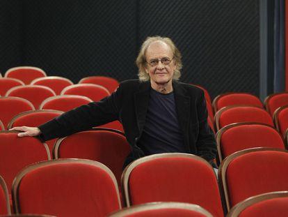 Luis Eduardo Aute, en la Filmoteca Española.