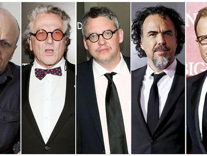 Los candidatos a mejor dirección en los Oscar 2016.